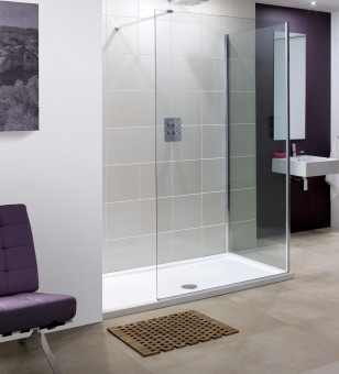 A photo of Lakes Bathrooms' Marseille Shower Enclosure