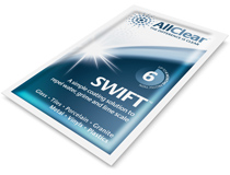an imafe of AllClear swift towlette product available to buy in the shop