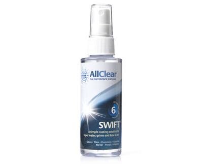 A product shot of Lakes Bathrooms' AllClear Swift