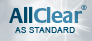 AllClear® as standard