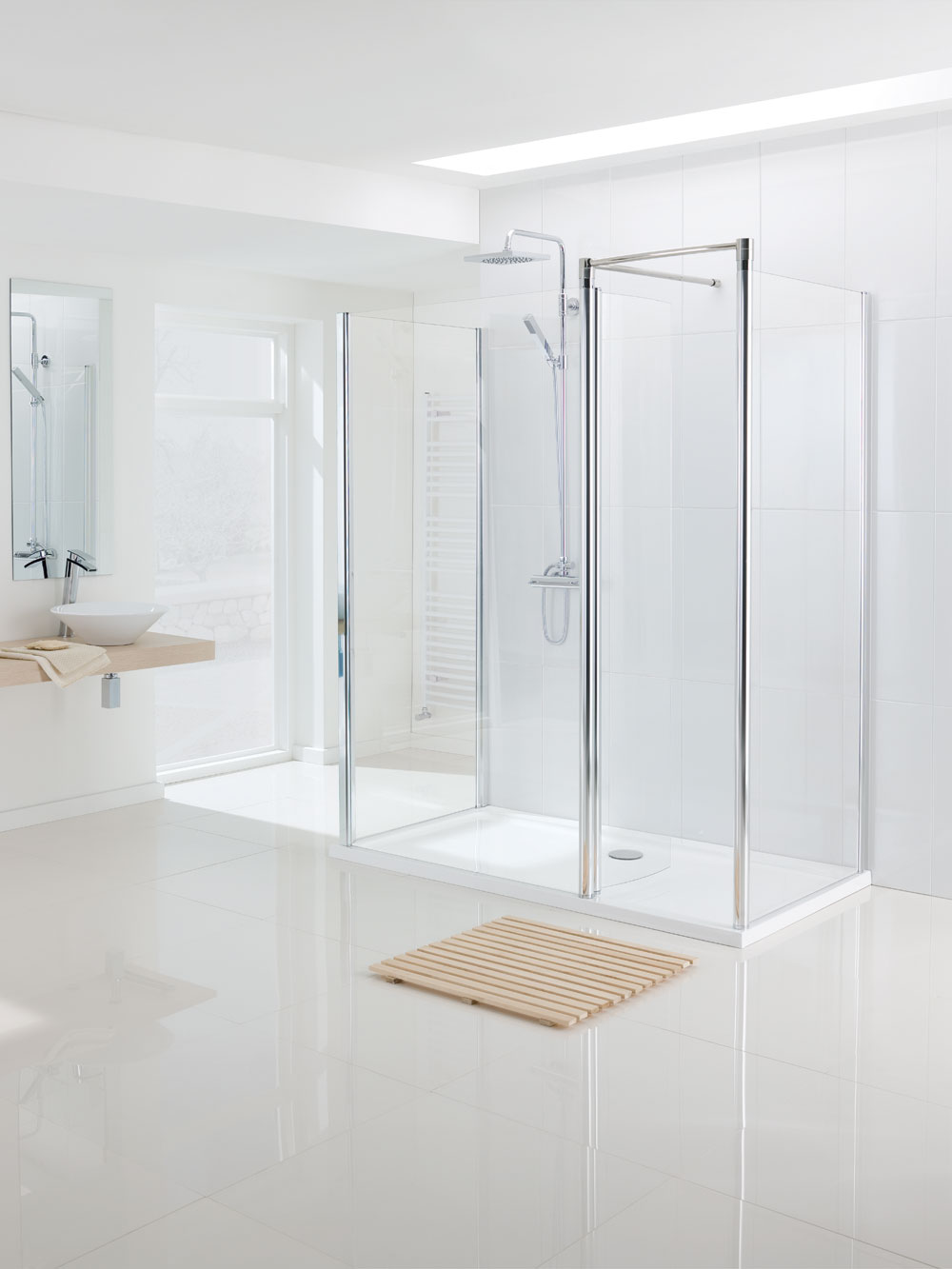 Top tips to create that minimalist bathroom look - Lakes Bathrooms
