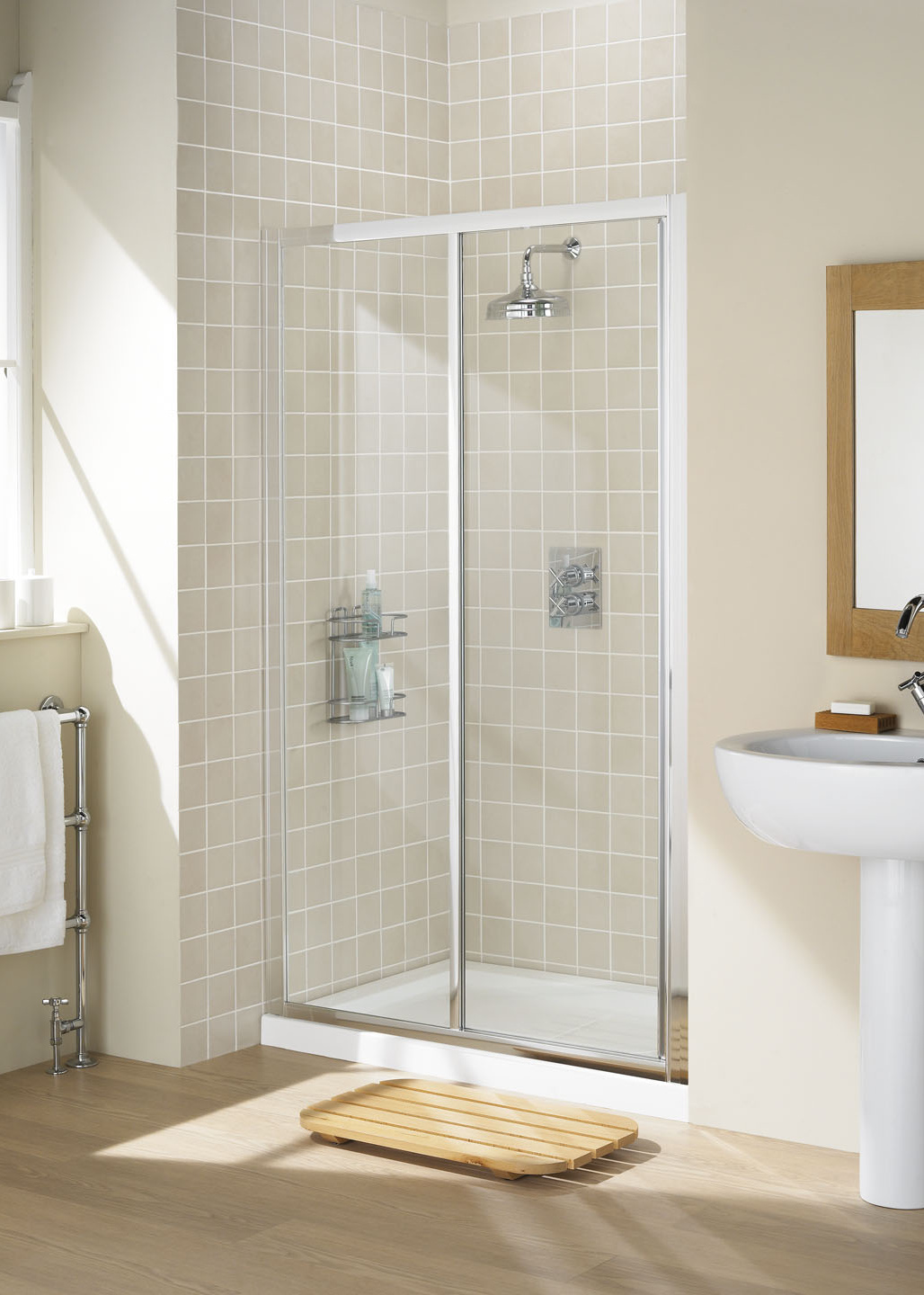 Framed Slider Door - Fully Framed Shower Enclosures