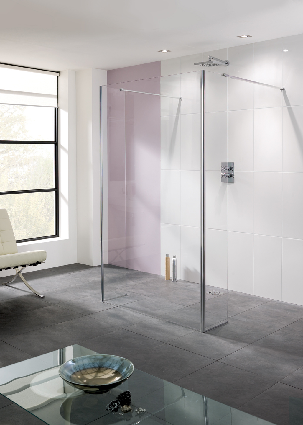 Riviera Shower Panel & Bypass Panels - Shower Enclosures