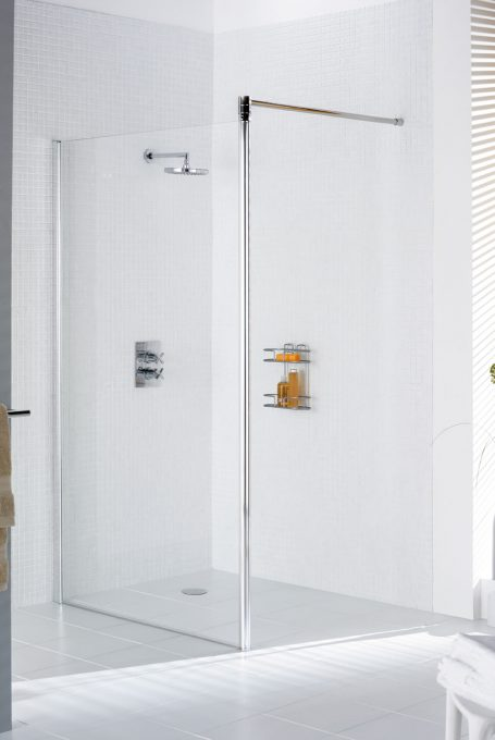Classic Semi-Frameless Shower Screen