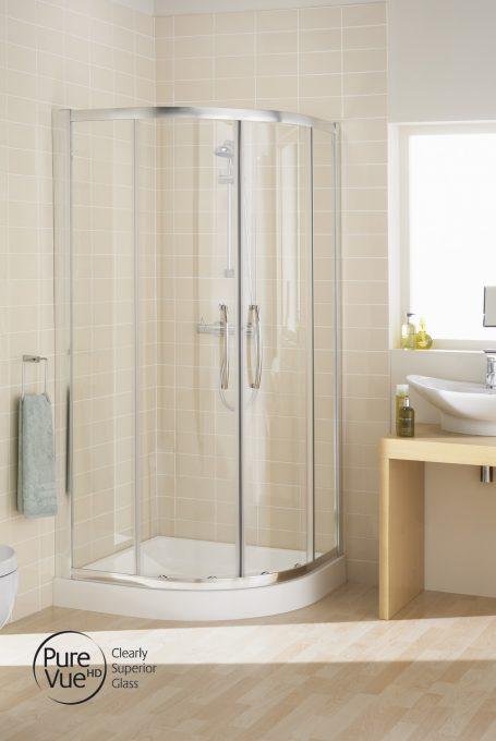 Double Door Quadrant Shower Enclosure