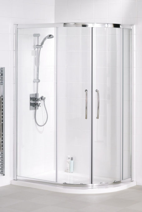 Easy-fit Offset Quadrant shower enclosure