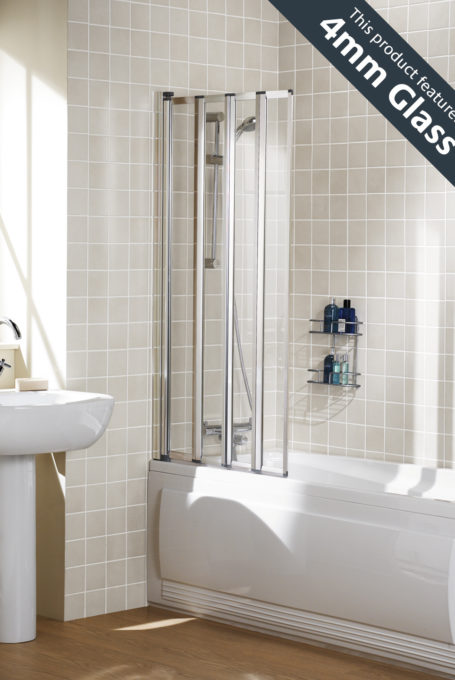 Framed Bath Screen