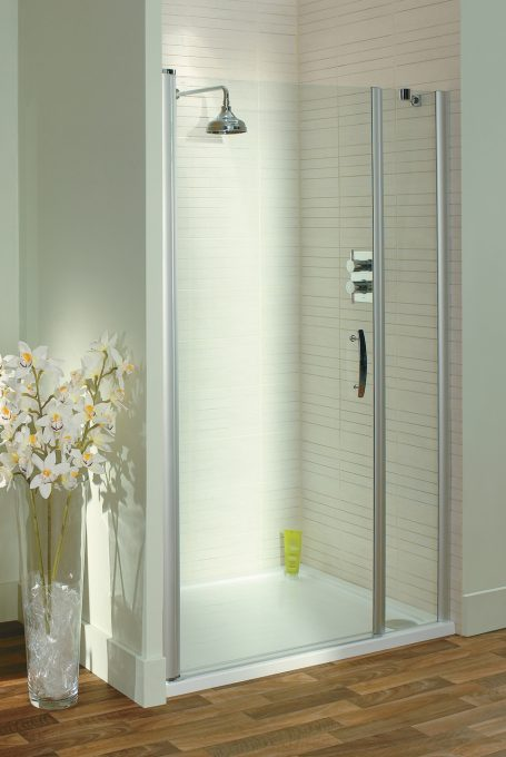 latina Semi-Frameless Pivot Shower Door