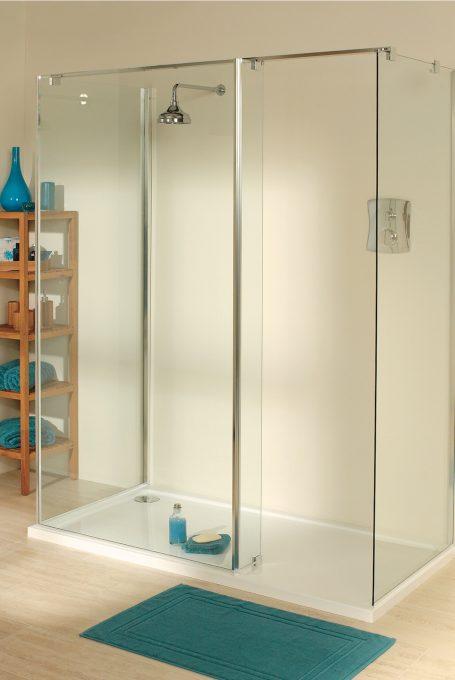 Milena walk-in shower enclosure