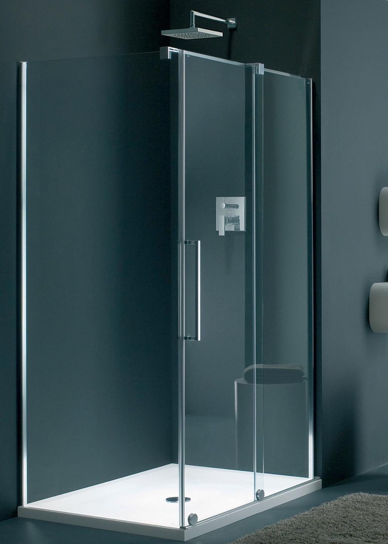 frameless Novara shower enclosure