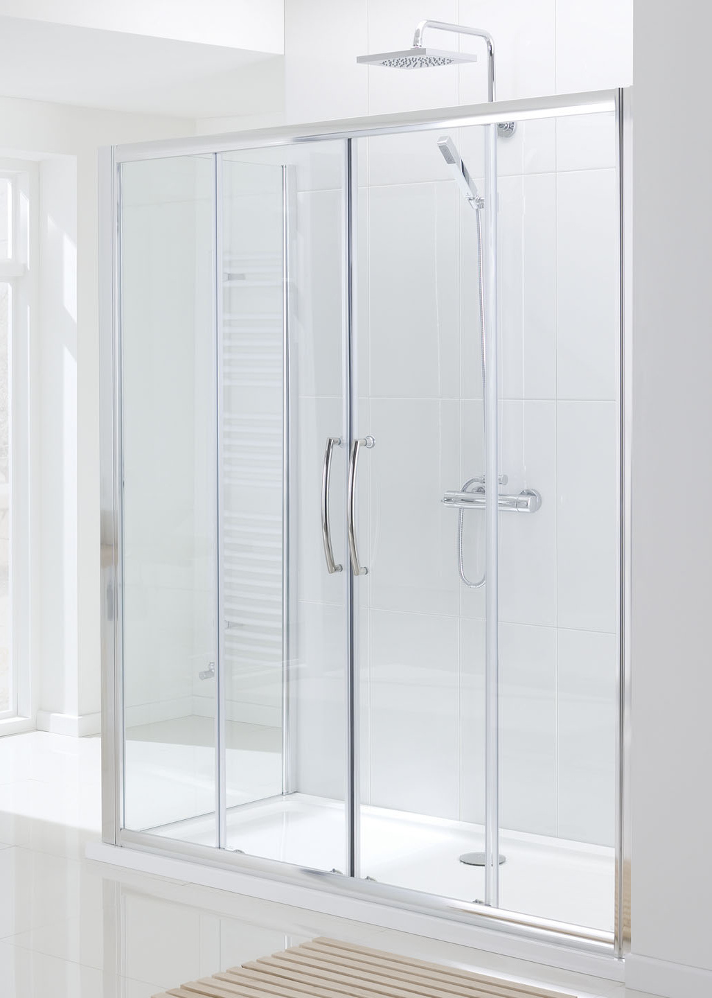 angle frameless galleries installations semi framed neo door shower king
