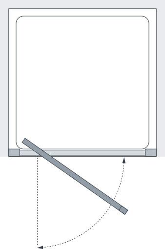 Semi Frameless Pivot Shower Door Shower Doors