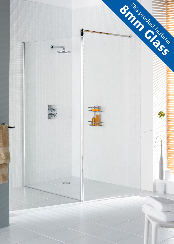 Semi-Frameless Shower Screen shower enclosure