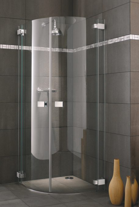 Frameless Siena Hinged Doors Shower Enclosure