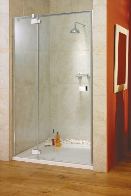 Vittoria frameless alcove shower enclosure