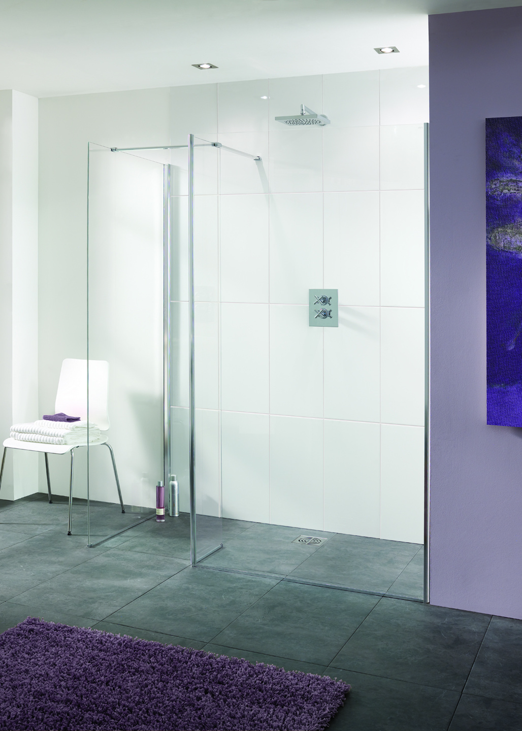 Palma - Frameless Walk-In Shower Enclosures | Lakes Bathrooms