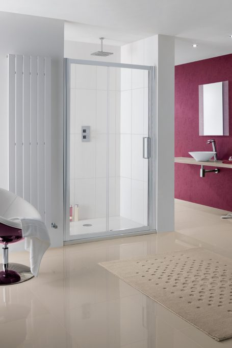 Semi-Frameless Talsi Slider Door shower enclosure