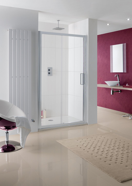 Semi-Frameless Talsi Slider Door shower enclosure