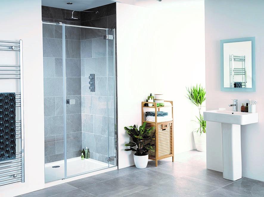 NEW: Cayman - Frameless Shower Enclosure | Lakes Bathrooms