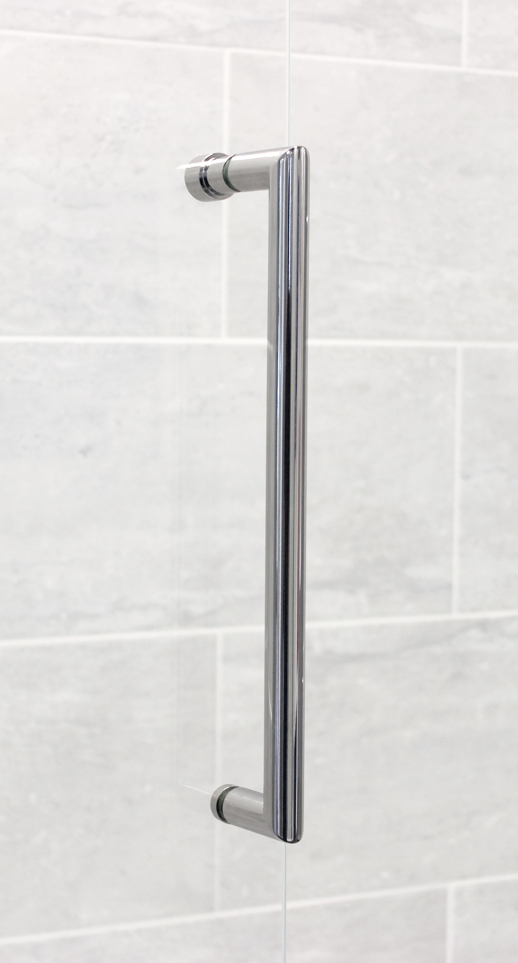 Lakes Bathrooms Chrome Loop Handle