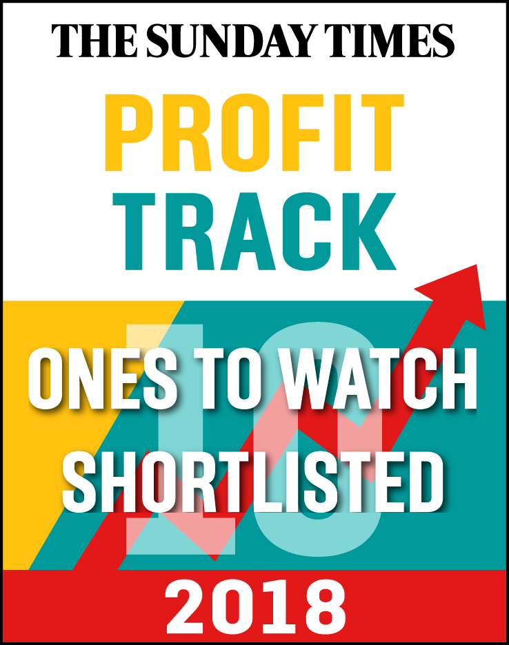 Sunday Times Profit Track shortlisted logo