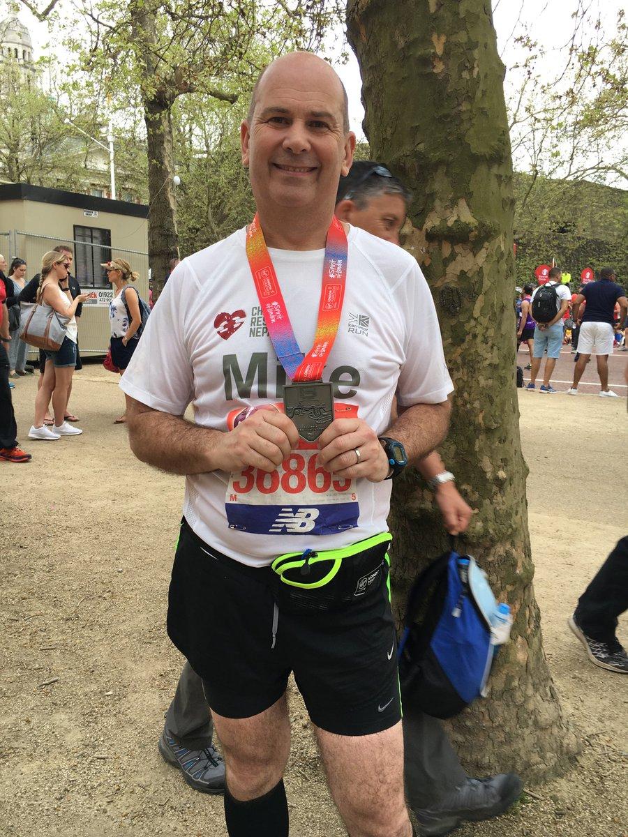 mike tattam london marathon