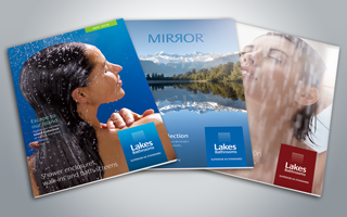 Lakes Brochure Front covers